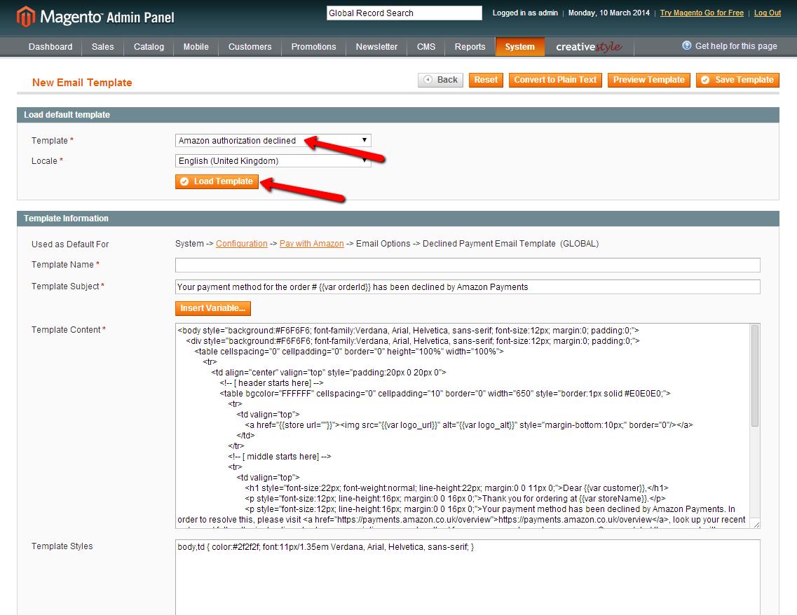 Design customization — Amazon Pay - extension for Magento 1 x EU 2 0